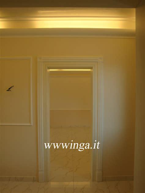 cornici in gesso per luce diffusa cornici coprineon cornici luce diffusa produzione stucchi