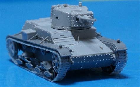 section 72 t ミラージュ 1 72 7tp 軽戦車 製作記 その4 戦車 軍用車両 プラモデル ballek2さんの