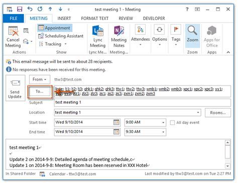 Office 365 Your Meeting Was Forwarded Meeting Invitation Email Outlook Cogimbo Us