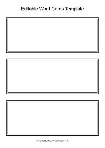 Blank Word Flash Card Template For Word by 21 Images Of Blank Task Cards Template Black And White