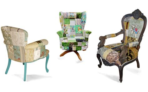 Patchwork Furniture For Sale - custom chairs sofas patchwork
