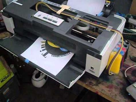 Tinta Original Epson T1100 Sistema De Tinta Continua Epson T1110