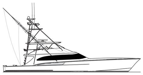 boat hull outline fishing boat clipart custom pencil and in color fishing