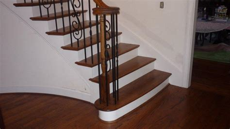 wooden stair treads lowes loccie  homes gardens ideas