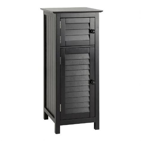 small black cabinet with doors small black 2 door louver cabinet tree shops