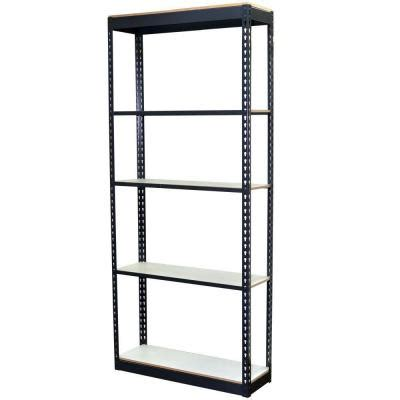 storage concepts 5 shelf steel boltless shelving unit with