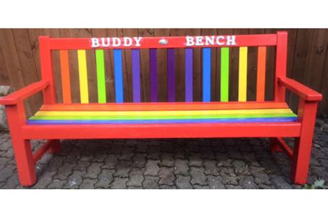 the buddy bench every school needs a buddy bench netmums