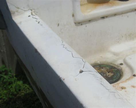boat transom cracks classicmako owners club inc 84 224 mako maluco