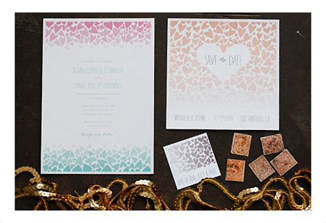diy save the date cards templates free diy wedding invitations our favorite free templates