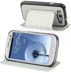Ultrathin Samsung Galaxy S3 ultrathin classic leather stents stand flip cover
