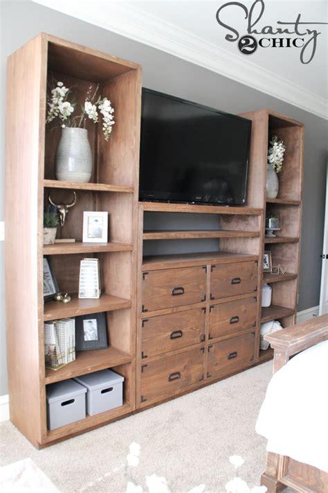Diy Shelves For My Sliding Barn Door Media Console Barn Door Media