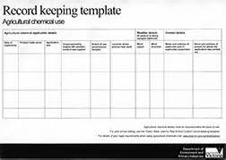 business record keeping templates keeping chemical use records record keeping