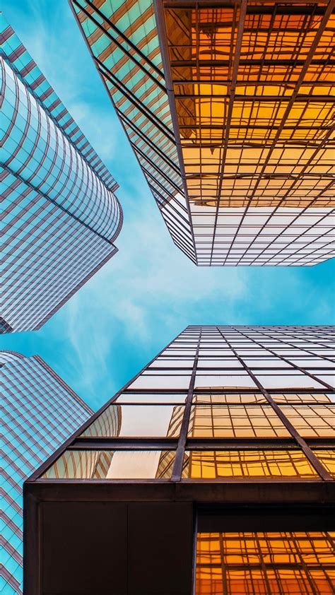 wallpaper skycrapper cityscape  architecture