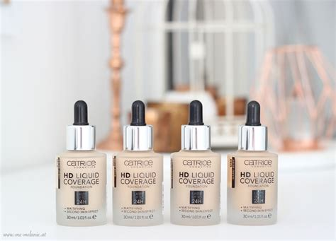 Catrice Cosmetic Hd Liquid Coverage Foundation catrice hd liquid coverage foundation review wishlist foundation and mac