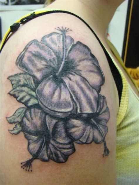 small black flower tattoos 51 hibiscus flower tattoos for shoulder