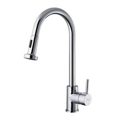 kitchen faucet with pull out spray vigo vigo chrome pull out wide spray kitchen faucet