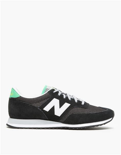 new balance 620 in black and white in black lyst