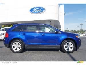 impact blue metallic 2013 ford edge sel ecoboost
