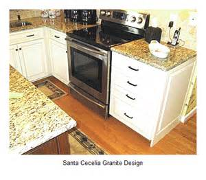 Kitchen Tile Backsplash Patterns 20 Santa Cecelia Granite Design Room Ideas Home And