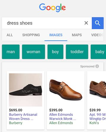 google section 8 google image search ads