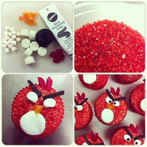 cool kid craft ideas angry birds cupcakes angry birds and birds on