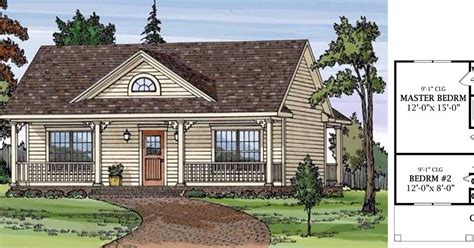 6 bedroom country house plans 6 tiny two bedroom country home floor plans