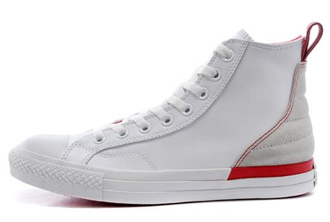 Converse Ct Kulit N Suede Size 36 44 overseas white converse leather chucks high tops grey suede sneakers converse