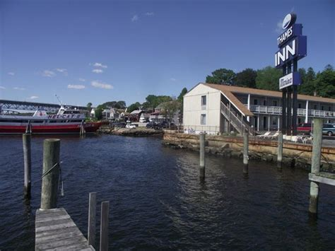 thames river marinas ct view of motel from dock picture of thames inn and marina