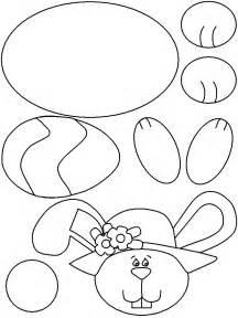 easter bunny paper bag puppet template last minute osterdeko 34 ostern bilder und vorlagen