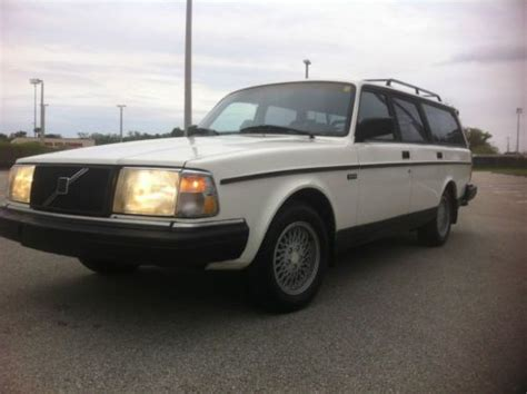car engine manuals 1992 volvo 240 regenerative braking sell used 1992 volvo 245 wagon in orlando florida united states for us 6 500 00