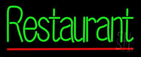 green restaurant neon sign restaurant neon signs   neon
