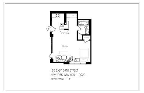 studio 54 floor plan perfect condo studio pied a terre in midtown east nyc