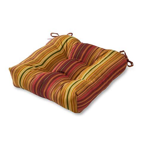Greendale Home Fashions 20 inch Outdoor Chair Cushion
