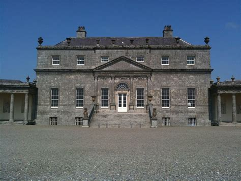 Russborough House Co Wicklow I Is For Ichnographia