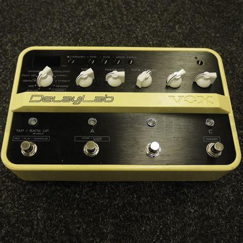 vox delay lab fx pedal 2nd rich tone