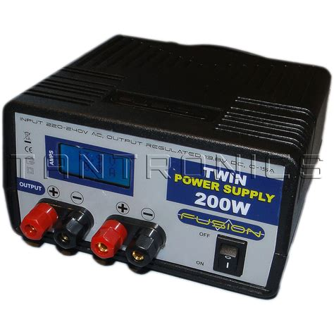 bench top power supplies 15a 13 8v 200w bench top power supply twin output