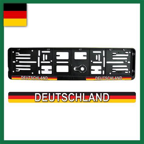 Aufkleber Selbst Gestalten Sterreich by Deutschland Kennzeichenhalter Und Label Shop