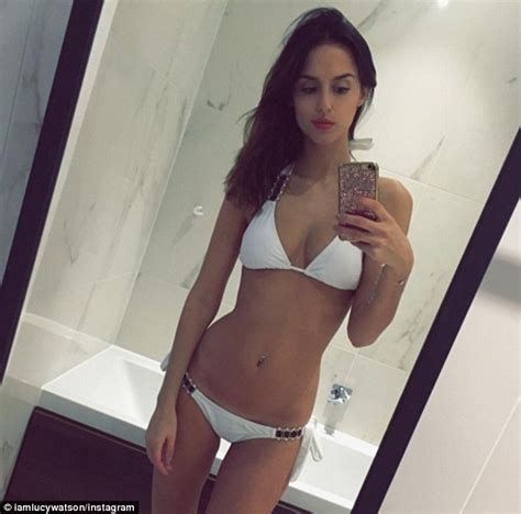 teen selfie bathroom made in chelsea s lucy watson flaunts her enviably taut