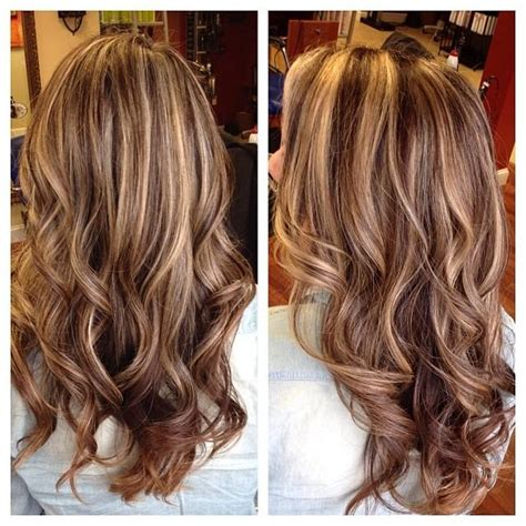 2015 highlights hair color in paris france highlights and lowlights did them on the thick side by