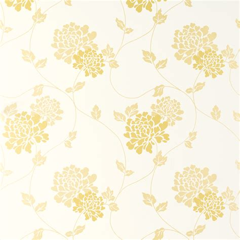 yellow flower wallpaper uk isodore camomile yellow white floral wallpaper laura ashley