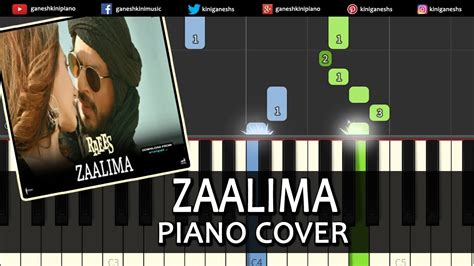 keyboard tutorial in hindi zaalima raees shah rukh khan hindi song piano chords