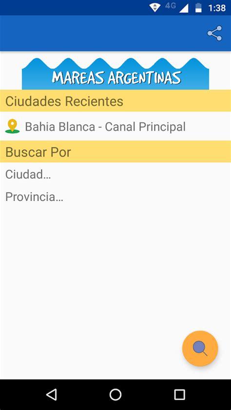 tabla de mareas comodoro rivadavia mareas argentinas android apps on google play