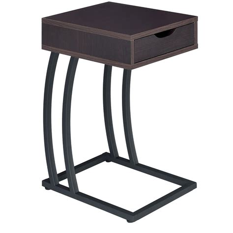 chair side table with power outlet coaster accent tables 900578 chairside table with storage