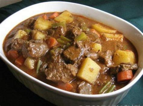 easy and delicious dinner recipe beef stew using v8 celeb baby laundry