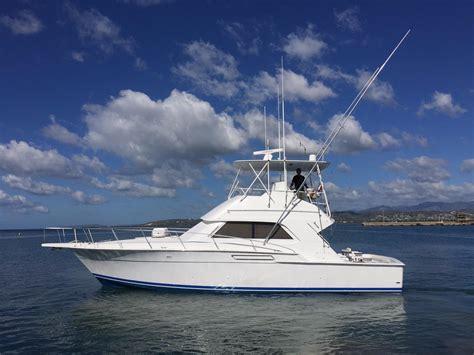 sport fishing convertible boats 1993 used bertram 43 convertible sports fishing boat for