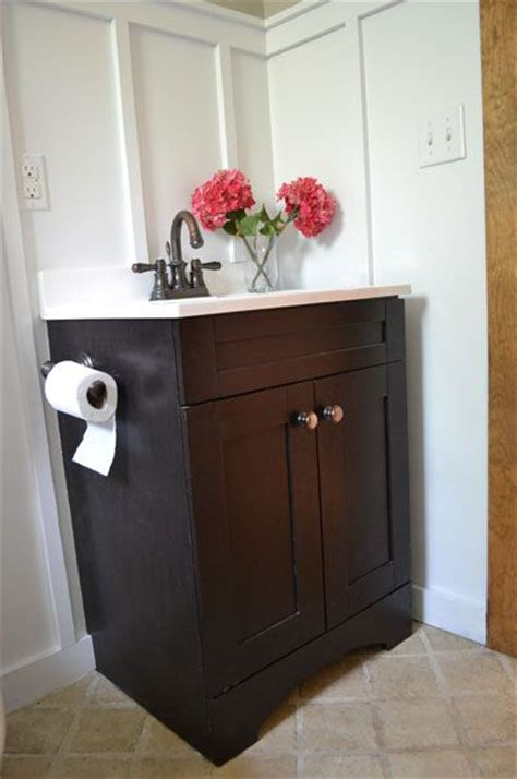 do it yourself bathroom vanity ana white build a builder grade vanity free and easy