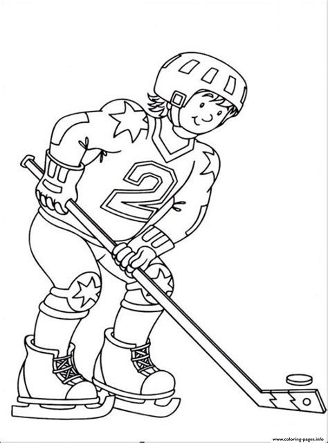 coloring pages for hockey hockey sedbd coloring pages printable