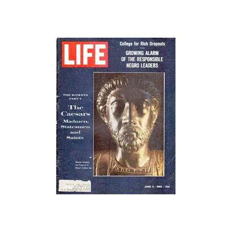 life magazine vintage cover page  caesars