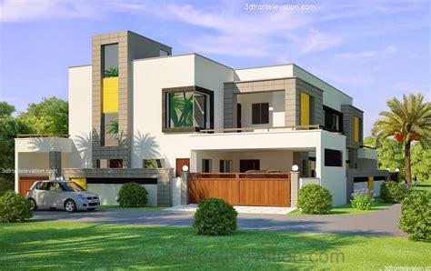 home design 3d for windows 3d front elevation com 1 kanal corner plot 2 house