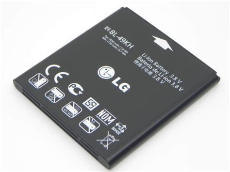 Baterai Battery Lg Optimus True P936 Bl 49kh Original 100 eac61678801 lg p936 optimus true hd lte battery li ion